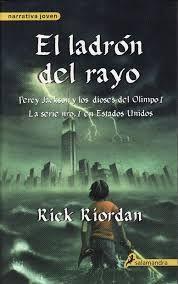 Libros: Saga Percy Jackson - Rick Riordan