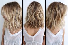 Beachy blonde hairspiration!