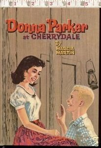 Second Silver - Donna Parker at Cherrydale book Marcia Martin 1957