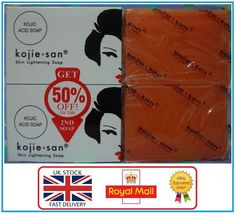 Genuine Kojie San Kojic Acid Skin Lightening Soap - 2 x 135g