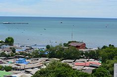Sea view from our guestroom 650 THB Ruenthip Pattaya เรือนทิพย์พัทยา