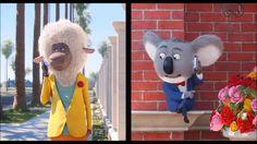 SING | Eddie (l) and Buster Moon (r)