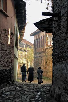 Cumalikizik Village Bursa, Turkey - One of the most priceless civil masterpieces of countryside, Cumalıkızık was built as a foundation village in piedmont of Uludag, Bursa during the reign of Ottoman Sultan Orhan Gazi (1326-1360).