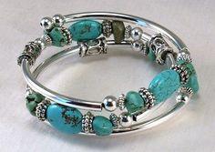 Pretty turquoise bracelet