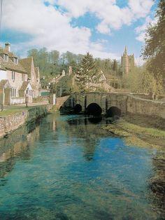 Castle Combe, Wiltshire, England - gorgeous!