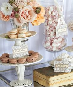WEDDING Dessert Table ~ Candy Buffet