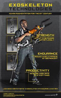 Rocketumblr | FORTIS Exoskeleton