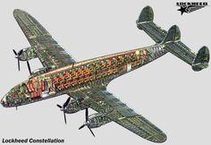 Lockheed Constellation Cutaway