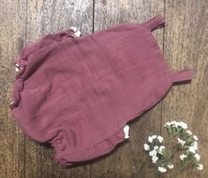 Dusty Plum Baby Rompers Hand Made with Crinkle double cloth, it is beautiful and soft Baby Rompers, Crinkles, Plum, Casual Shorts, Outfits, Beautiful, Clothes, Fashion, Baby Overalls