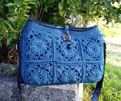 The Perennial Bag by Sarahjanedesign | Crocheting Pattern - Looking for your next project? You're going to love The Perennial Bag by designer Sarahjanedesign. - via @Craftsy