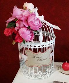 une urne de mariage originale lgante et colore beaucoup de maris optent pour la - Urne Mariage Cage