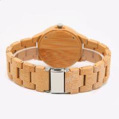 06 Ženy Hodiny Luxusní dámské hodinky Dřevěné hodinky Analogové křemenné  Light Weight Prodej relogio feminino Valentýnský 9b167ec60bf