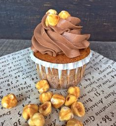 Cupcakes alla gianduia