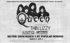 Queen w/ Thin Lizzy
