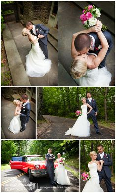 Creative wedding pictures at the Watkins Glen State Park | Timeless Treasures Photography | www.savingyourmemories.com