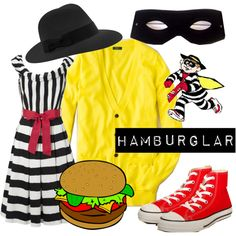 hamburgler, created by msmcpolly on Polyvore
