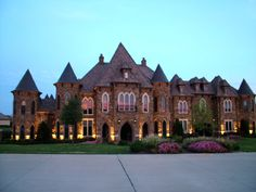 The Montserrat Castle  9553 Bella Terra Drive - Fort Worth, TX  For sale for $4,100,000.