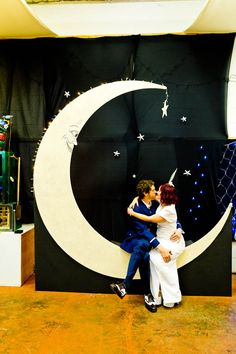 So cute!! A Dirty Fabulous Circus Wedding: Caroline & Peter