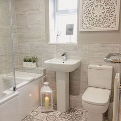 65 Small Bathroom Design Inspiration As A Reference For Your Small Bathroom Renovation - Making small renovations into a current bathroom is readily done. Ascertain what you would like to perform and decide the bathroom renovation price also. Cozy Bathroom, Diy Bathroom Decor, Bathroom Interior, Modern Bathroom, Bathroom Ideas, Master Bathroom, Bathroom Inspo, Bathroom Renovations, Rental Bathroom