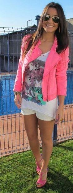 Neon Pink Blazer <3