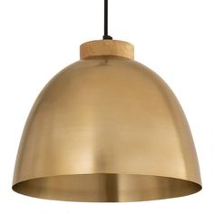 Antique Brass and Wood Drop Pendant Lamp | World Market Brass Pendant Light, Kitchen Pendant Lighting, Kitchen Pendants, Pendant Chandelier, Transitional Pendant Lighting, Small Pendant Lights, Lighting Solutions, Antique Brass, Light Fixtures