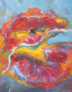 Folklorico Dancer Painting  - Folklorico Dancer Fine Art