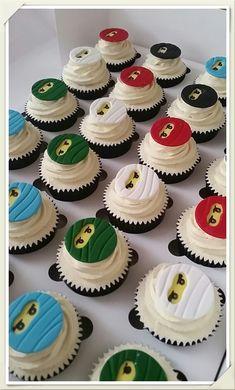 Ninjago cupcakes More