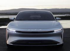 lucid air electric car designboom