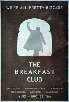 March 24th 1984 - The Breakfast Club Poster by disgorgeapocalypse