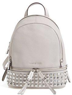 Michael Kors MICHAEL Michael Kors Extra Small Rhea Zip Studded Backpack