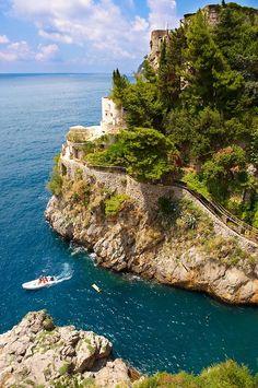 ღღ Furore, Amalfi Coast, Campania, Italy -- I just love the Amalfi Coast. But the drive is a bit scary! Positano, Amalfi Coast, Dream Vacations, Vacation Spots, Places To Travel, Places To See, Places Around The World, Around The Worlds, Sorrento