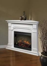Small white corner fireplace electric Home Pinterest Corner