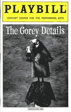 Image result for books with edward gorey illustrations