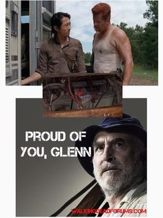 Yes Dale is the one who taught Glenn and he couldn't say it because it was too hard!