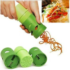 Nouvelle-Cuisine-Tool-Ware-légumes-Veggie-Twister-Cutter-Slicer-traitement-Ricer