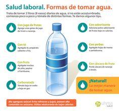 Infografía. Beneficios del agua para tu salud. / Infographic. Health benefits of drinking water