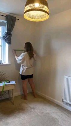 Home Room Design, Home Office Design, Home Interior Design, Interior Decorating, Home Office Paint Ideas, Creative Office Decor, Small Office Decor, Small Wall Decor, Small Office Design