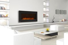 Wall Mount Electric Fireplace, Modern Fireplace, Decoration, Beach House, Design, Home Decor, Napoleon, Family Room, Facebook