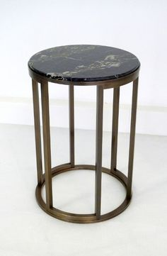Vidal and company makers of bespoke hand made furniture, Making some of the worlds finest luxury bespoke furniture. Brass Side Table, Side Coffee Table, Table Furniture, Furniture Making, Furniture Design, Bespoke Furniture, Contemporary Furniture, Small Tables, Side Tables