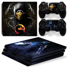 Qualified Spider Man Venom Black Ps4 Console Controllers Skin Vinyl Decals Stickers Covers To Suit The PeopleS Convenience Faceplates, Decals & Stickers