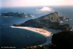 Praia das Rodas. Islas Cies. Galicia.