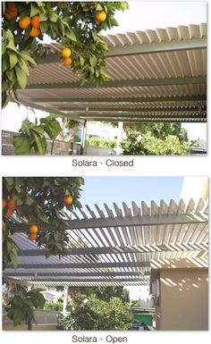 Patio Cover - Solara louvers  this is so cool.  I can see so many reasons to have one