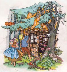 Hansel and Gretel | Soloillustratori: Die klassischen Märchen von Kuhn illustriert