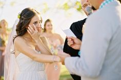 Get insider tips for writing your own wedding ceremony at SHEfinds weddings.