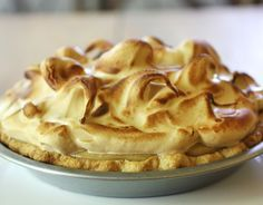 butterscotch pie with caramel layer & brown sugar meringue - like the cloud 9 at Emporium pies :-)