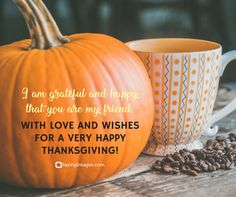 30 Inspiring Happy Thanksgiving Quotes For Family And Friends | SayingImages.com