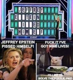 Thats 8 more then Epstein Funny Cat Memes, Funny Cartoons, Funny Shit, Hilarious, Bad Cats, Bad Kitty, Kitty Kitty, Trump Card, Twisted Humor