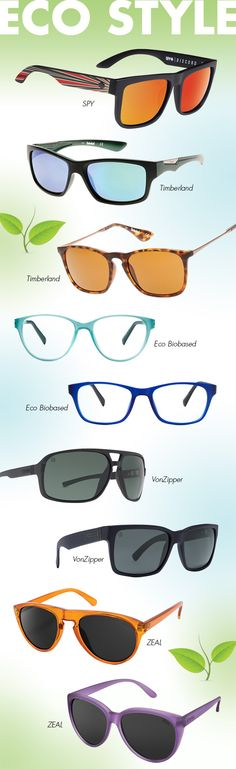 Celebrating Earth Day with Eco-Friendly Eyewear: http://eyecessorizeblog.com/2015/04/celebrating-earth-day-eco-friendly-eyewear/