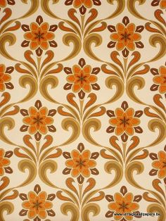 All retro vintage wallpaper you find here are & from a dead stock.