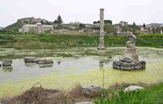 Present state of the Temple of Artemis at Ephesus - Credit Photo David John-My Favourite Planet
